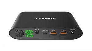 Litionite Tanker Powerbank 25000mAh (USB-C & DC-Ausgang)