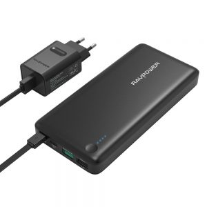 RAVPower Quick Charge 3.0 Power Bank 20100mAh