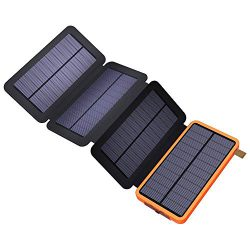 X-Dragon 10000mAh faltbare Solar Power Bank