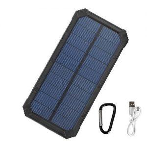 Tollcuudda 10000mAh Solar Power Bank