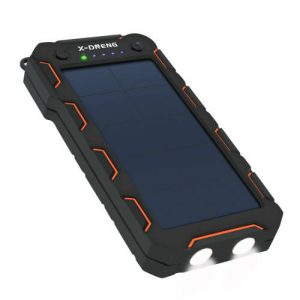X-DNENG 15000mAh Solar Power Bank