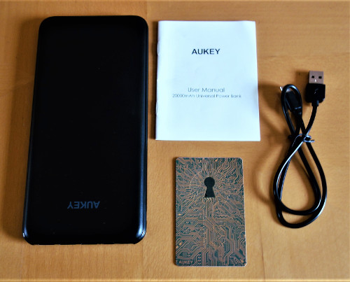 Aukey PB-Y14 Lieferumfang