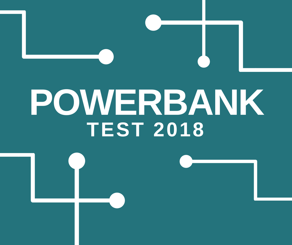 Powerbank Test 2018